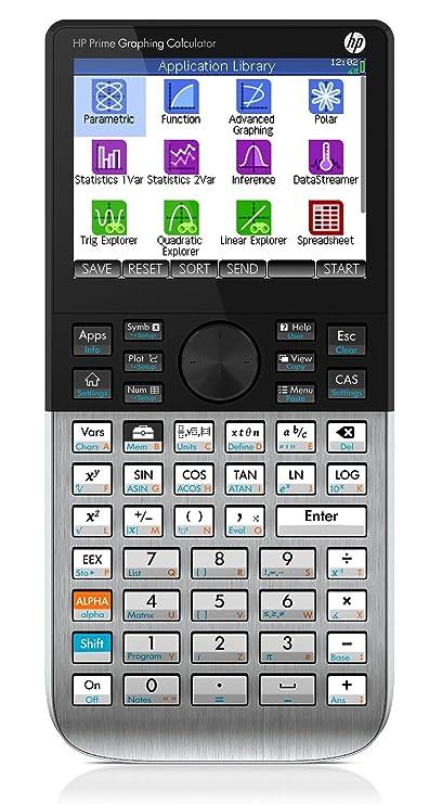 Hp Prime - Calculadora Gráfica táctil - Pantalla a color ...