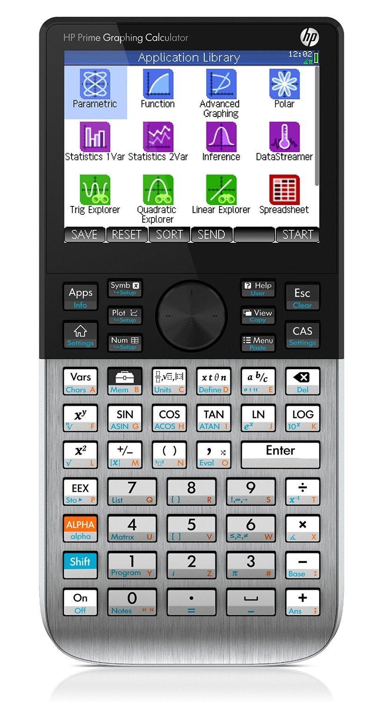 HP Prime Calculators HP Prime Black/Grey