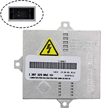 307 329 090 Land Rover Headlight Control Unit Module Replaces 307 329 074 Replacement Xenon HID Ballast for BMW others 63127176068 Mercedes 6 Year Warranty Audi
