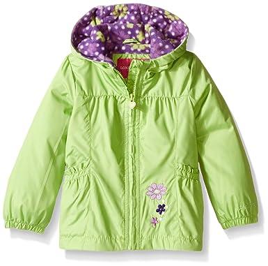 Amazon.com: London Fog Girls Floral Printed Fleece Lined Jacket