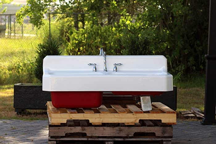Amazon Com Vintage Refinished Farm Sink 50 American