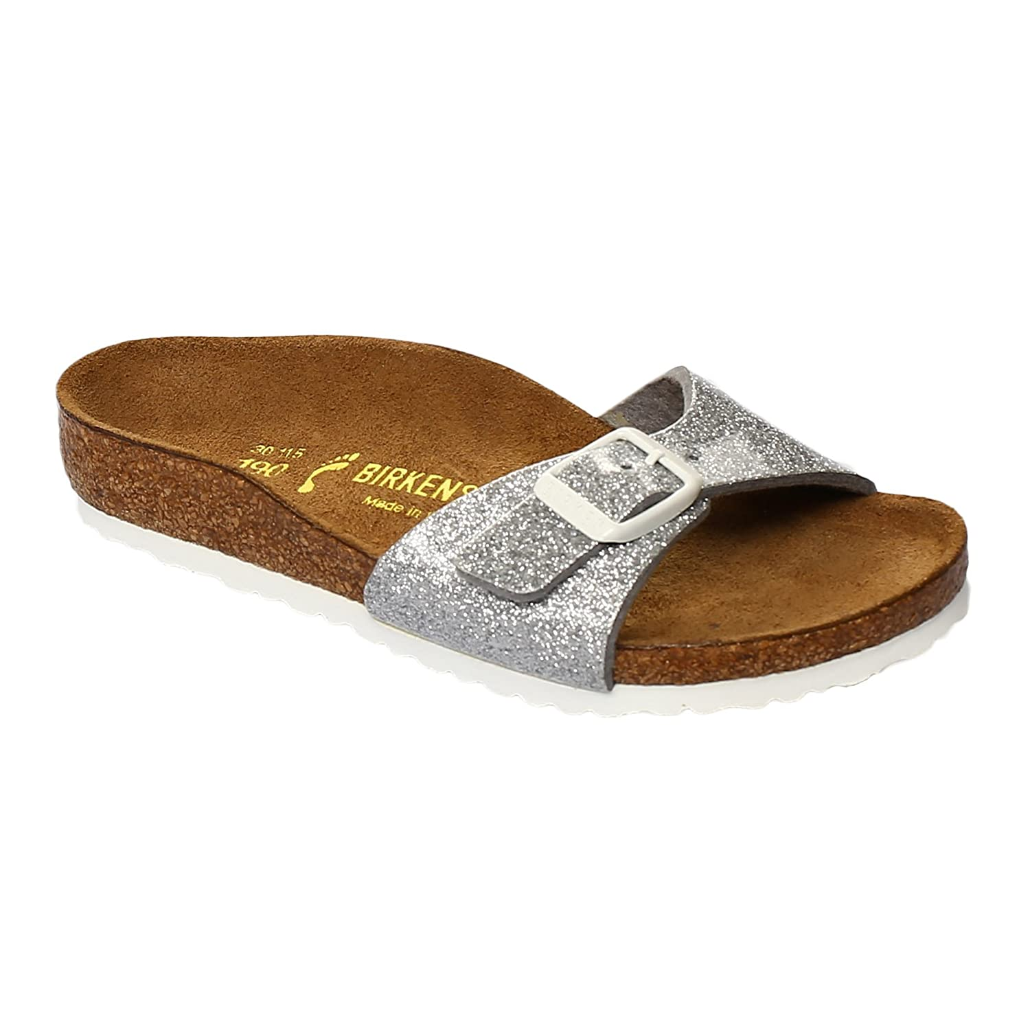 Birkenstock Madrid Magic Galaxy Silver, grey: Amazon.co.uk