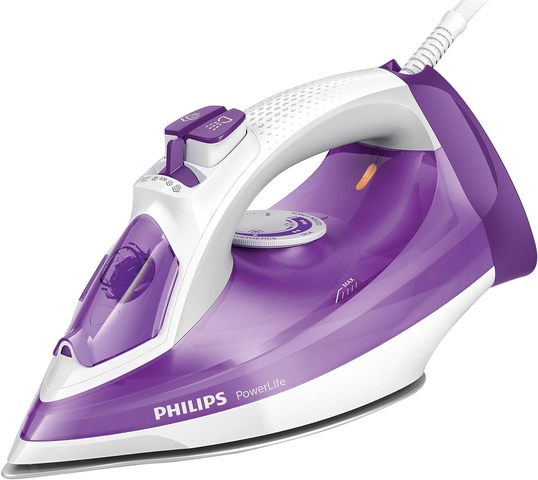 Philips Powerlife GC2991/30 - Plancha Ropa Vapor, 2300 W, Golpe Vapor 140 g, Vapor Continuo 35 g, Suela Steam Glide, Antical Integrado: Amazon.es: Hogar