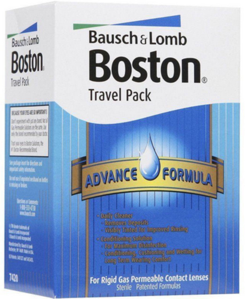 Bausch & Lomb Boston Advance Formula Travel Pack 1 Each (Pack of 6) by Bausch & Lomb (Image #1)
