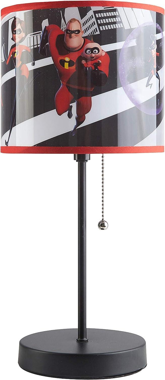 The Incredibles WK320681 Incredible 2 Stick Lamp, Black