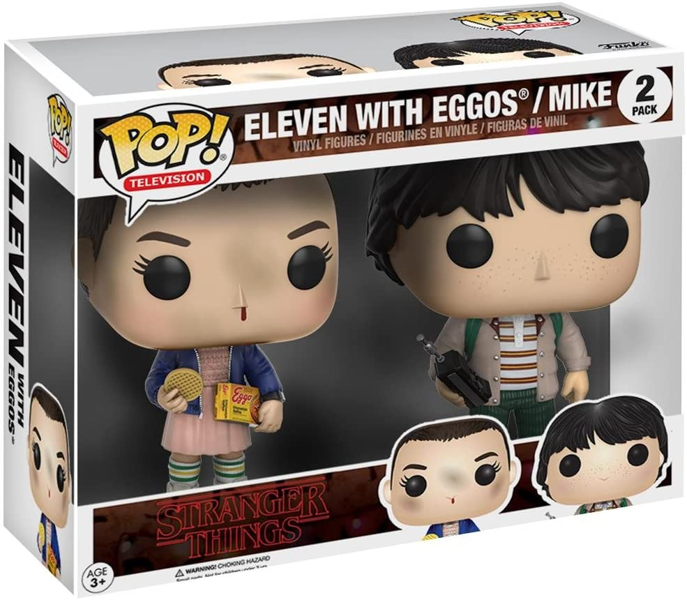 Funko 599386031 - Figura Stranger Things - Eleven and Mike: Amazon.es: Juguetes y juegos