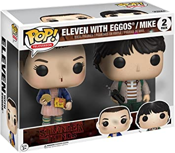 Funko 599386031 - Figura Stranger Things - Eleven and Mike: Amazon.es: Juguetes y juegos