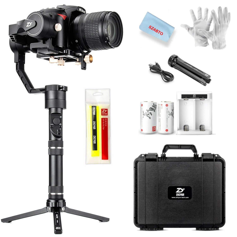 Zhiyun Crane Plus 3 axis Handheld Gimbal Stabilizer Crane V2 Upgrade Ver  2018 for Sony Panasonic Fujifilm Canon Nikon DSLR & Mirrorless Cameras with