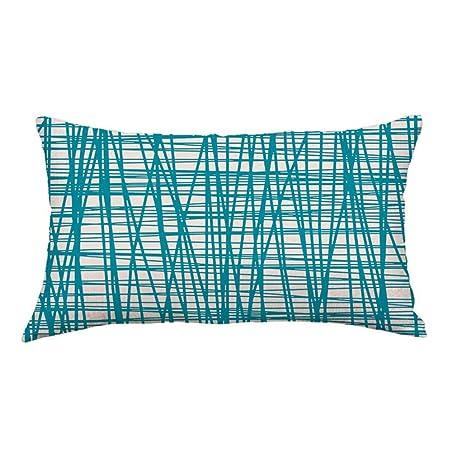 Xinantime_Fundas Cojines Cubiertas, Líneas xinantime geométrica sofá cama Inicio decoración del festival funda de almohada fundas de colchones ...