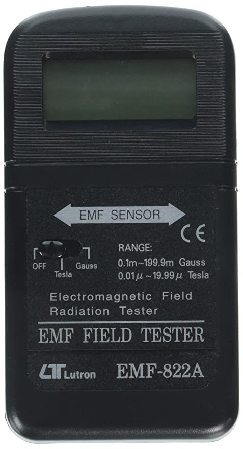 Amazon.com: Lutron 822-A Fully Digital EMF Meter (Wide Range, High ...