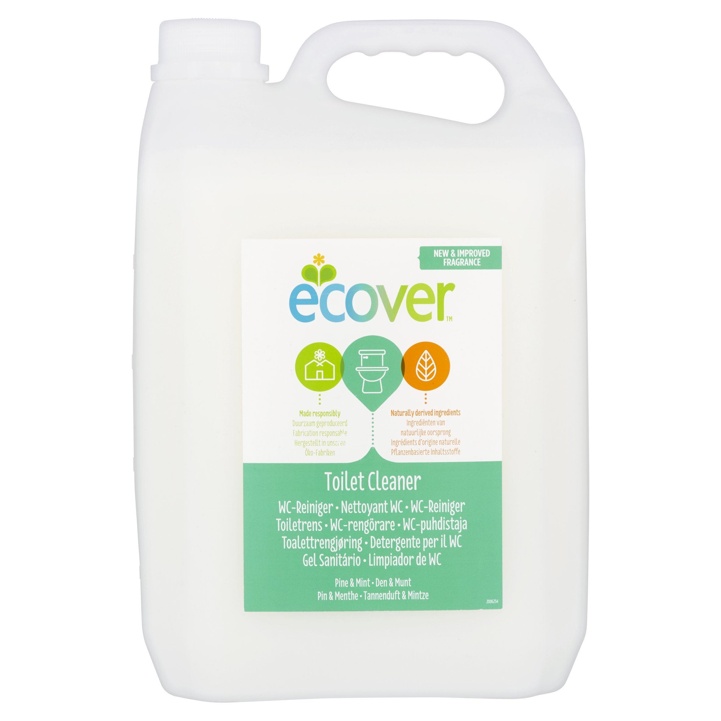 Ecover Pine Fresh Toilet Cleaner 5 Litre by Ecover (Image #1)