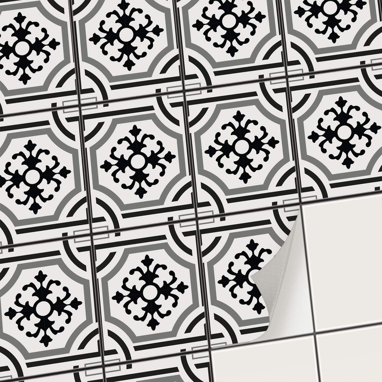 Creatisto Fliesenfolie Fliesenaufkleber Klebefolie Fliesen I I I Aufkleber Folie Sticker Fliesensticker Fliesenspiegel Küche renovieren Bad deko I 10x10 cm - Motiv Portugiesisch - 72 Stück B07KG9LS62 Wandtattoos & Wandbilder 28047f