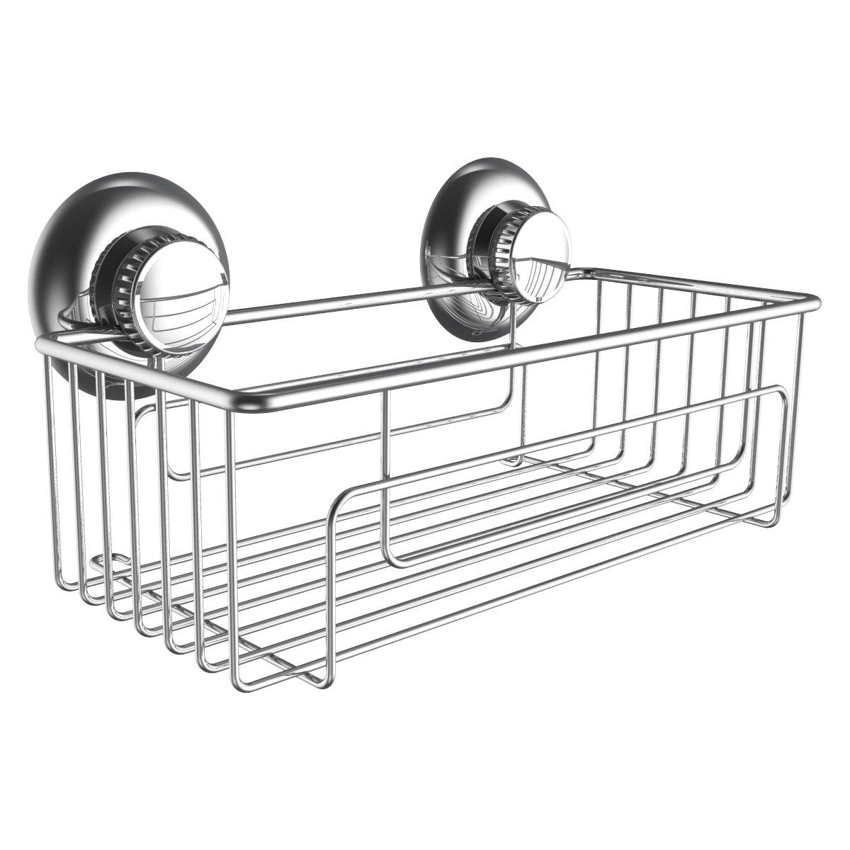 Amazon.com: Gecko-Loc Suction Cup Double Hooks Shower Accessory ...