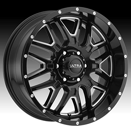 Ultra HUNTER BLACK Wheel With Gloss CNC Milled Accents