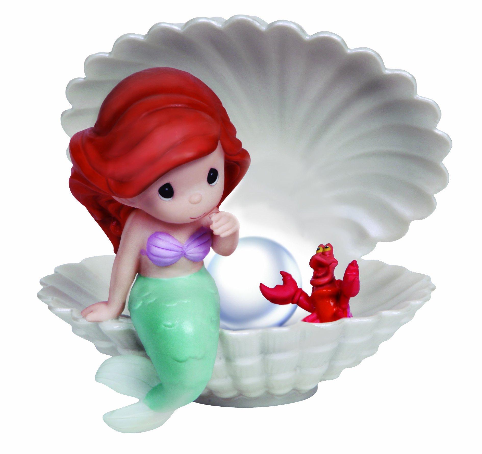 Precious Moments, Disney Showcase Collection, You're A Precious Jewel To Cherish Forever, Bisque Porcelain Figurine, 134007