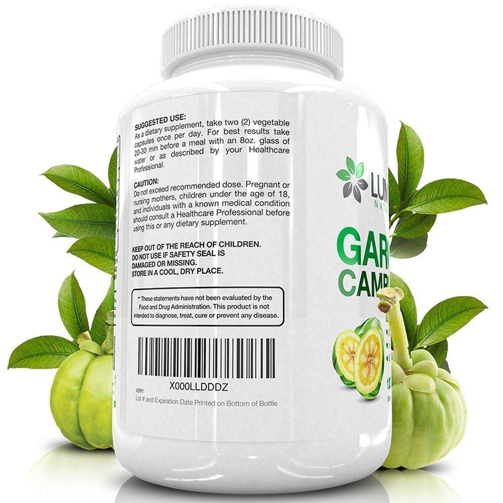 Pure Garcinia Cambogia Fruit Extract 95 Hca Weight Management Pills For Men Women