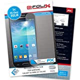 atFoliX Samsung Galaxy S4 mini GT-i9190 Displayschutzfolie (3 Stück) - FX-Clear, kristallklare Premium Schutzfolie