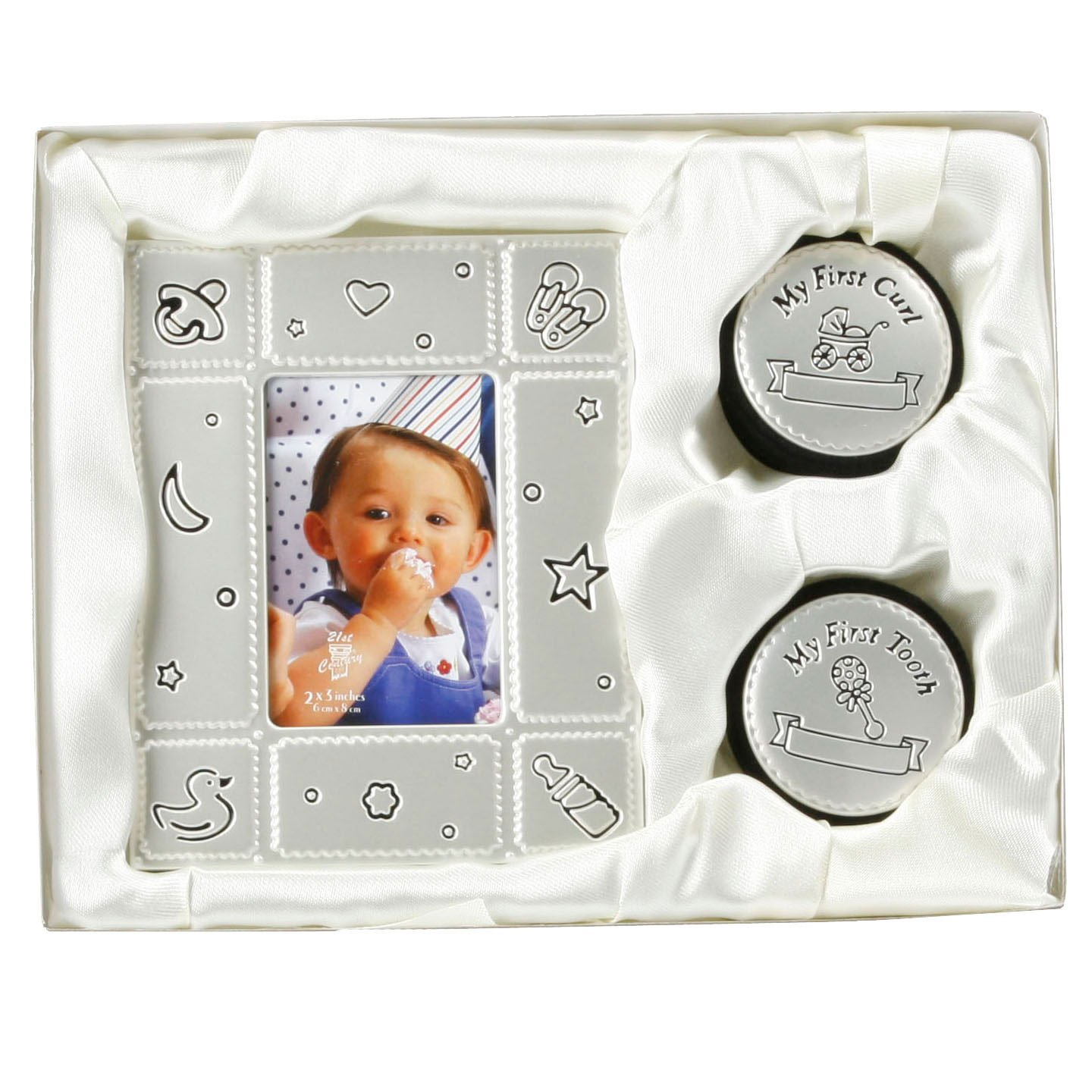 SET OF 4 BABY STORAGE BOX GIFT SHOWER CHRISTENING KEEPSAKE NEW BORN PRESENT NEW