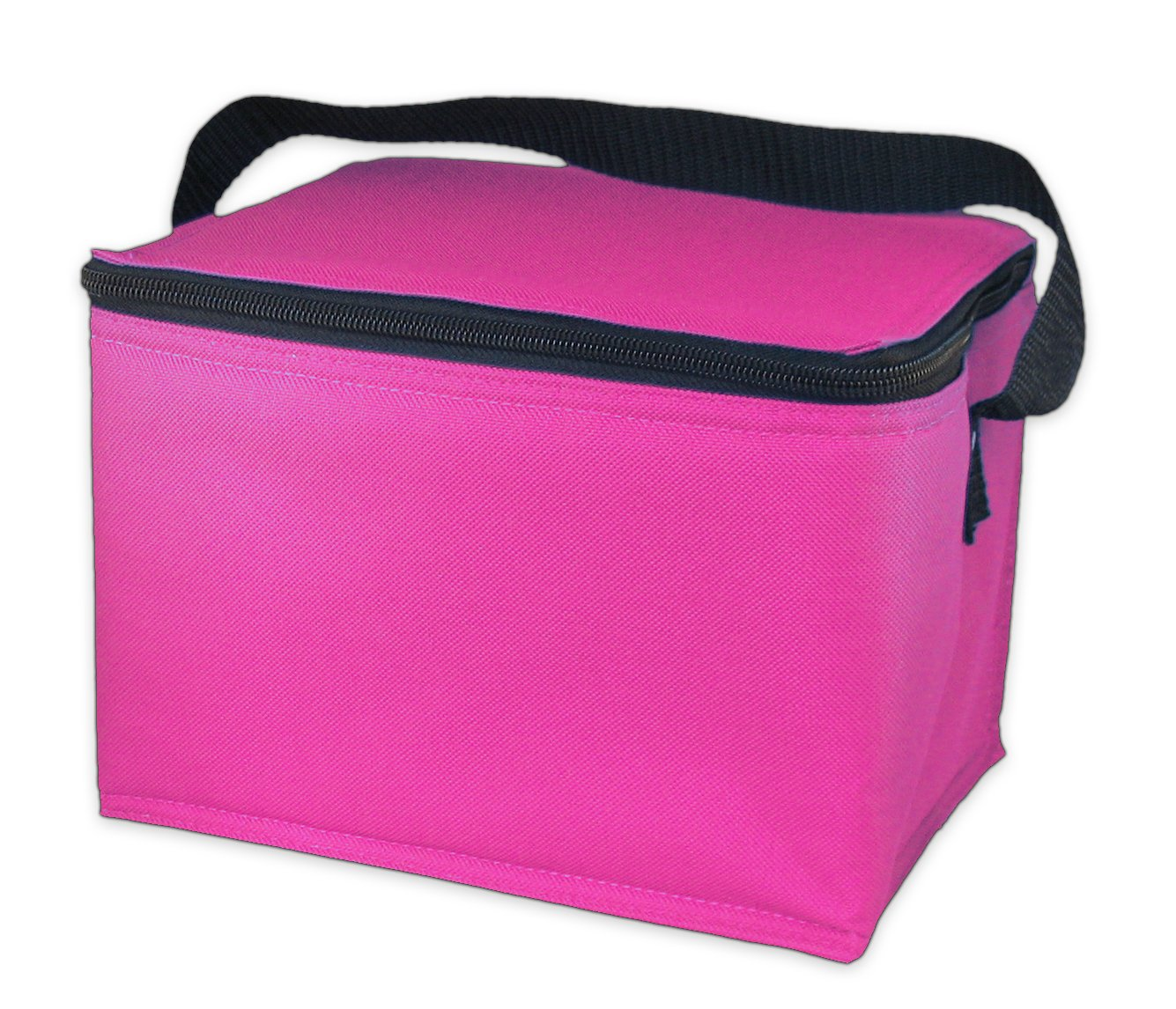 Easylunchboxes Insulated Lunch Box Cooler Bag Pink Coolerbag Coleman Kitchen Dining