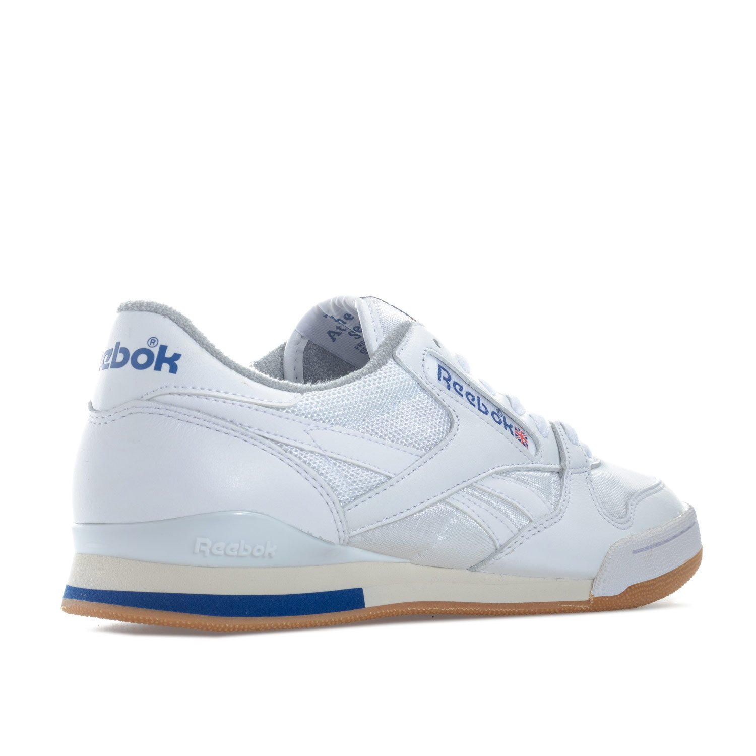 6f6047f3a5f Reebok Classics Mens Phase 1 Pro Trainers in White  Amazon.co.uk  Sports    Outdoors
