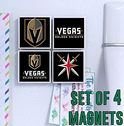 Amazon.com  Vegas Golden Knights Magnets - set of 4 tile magnets - 2 ... b317947b404b