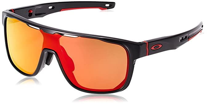 7e17215eb2e Amazon.com  Oakley Men s Crossrange Shield (A) Sunglasses