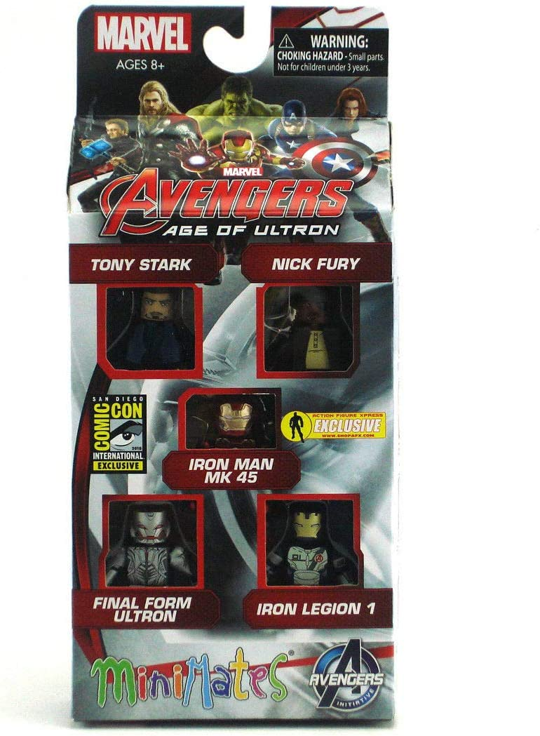 Marvel Minimates SDCC Avengers Age of Ultron Movie Tony Stark