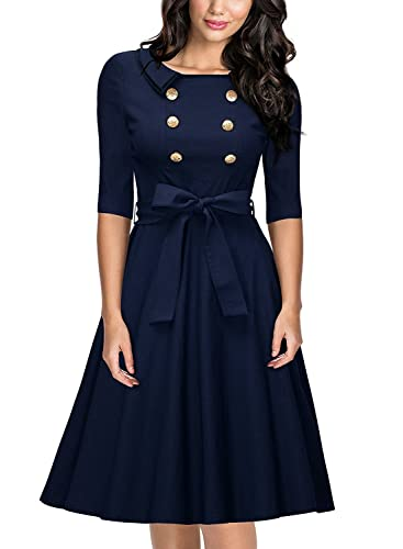 FasterS -  Vestito  - Donna Navy blue Large