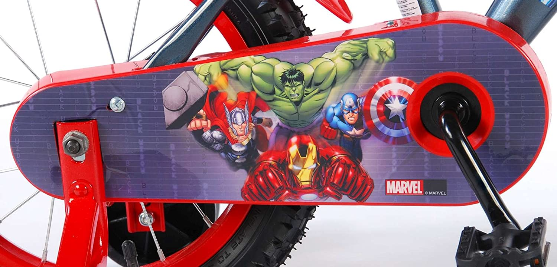 Spielwaren Klee Klee Klee Marvel Avengers Fahrrad 14 Zoll Jungen Kinderfahrrad mit Rücktrittbremse Stützräder 016f14