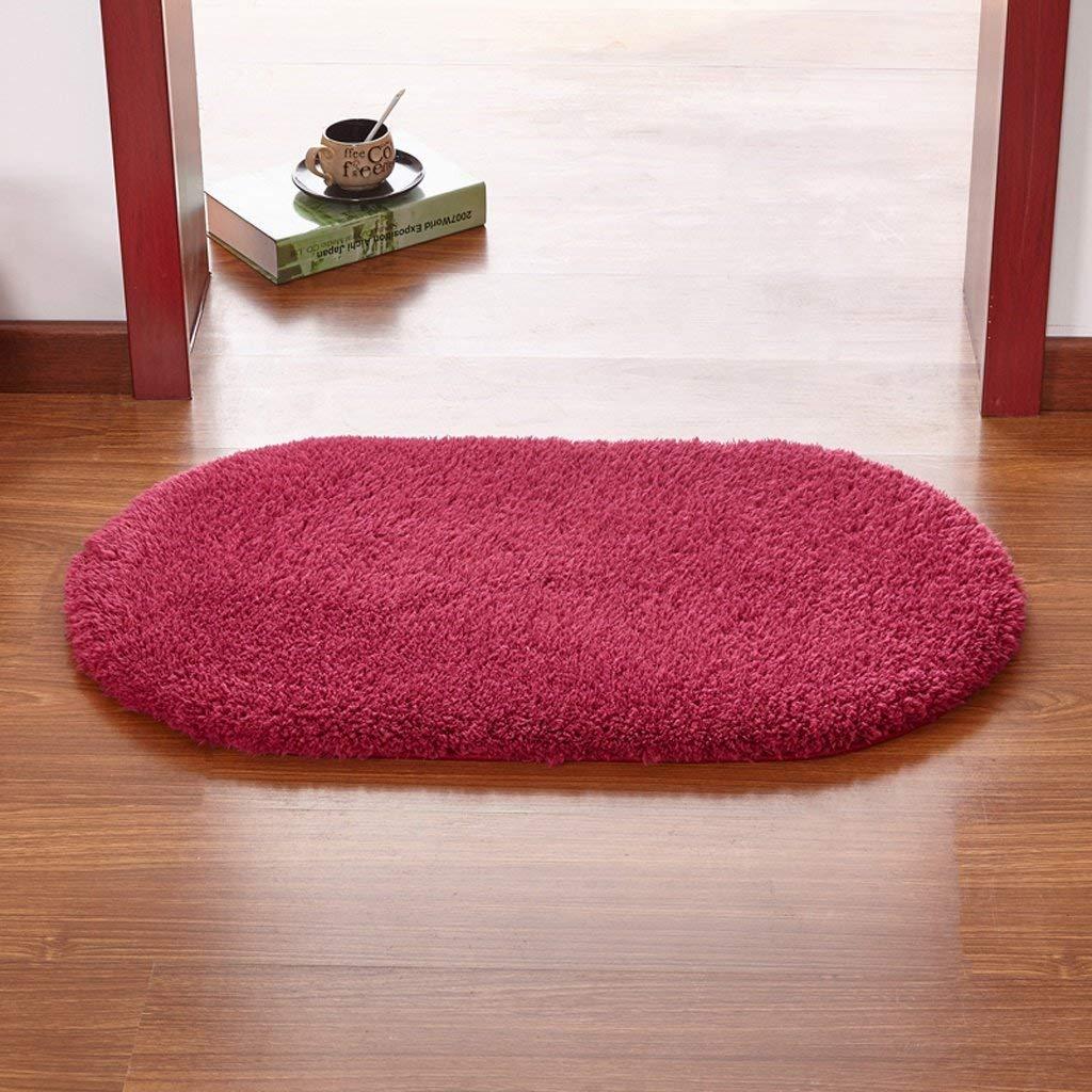 GuoEY Los felpudos Felpudo Dormitorio Dormitorio Dormitorio Cocina bantilde;o bantilde;o Puerta de Material Antideslizante Absorbente de Color cafeacute; (:) 4308b6