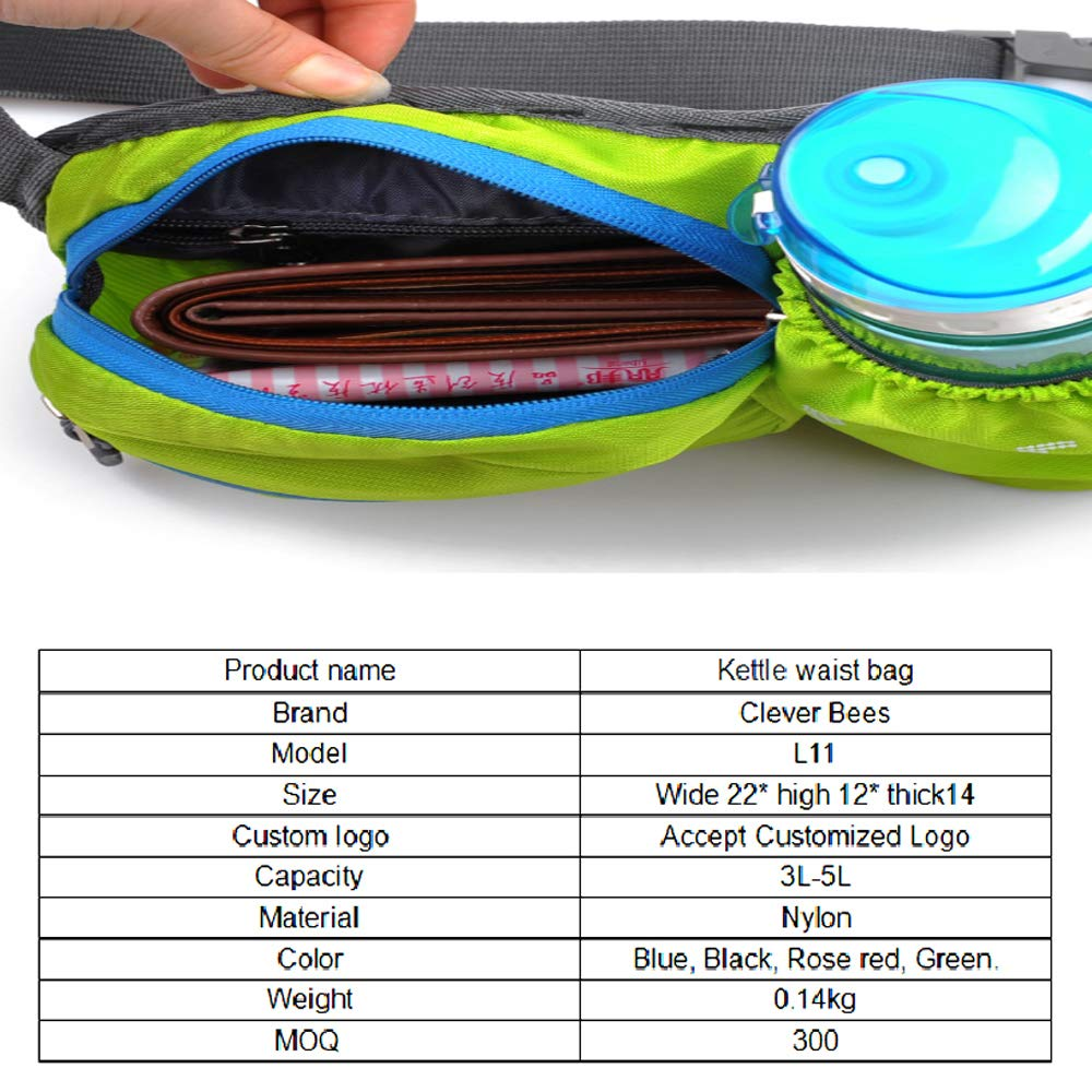 Outdoor Pockets Messenger Bag Male Waterproof Nylon Small Chest Bag Female Sports Multi-Function Kettle Bag Large Capacity Waist Bag ZSTY Casual Sports Bag