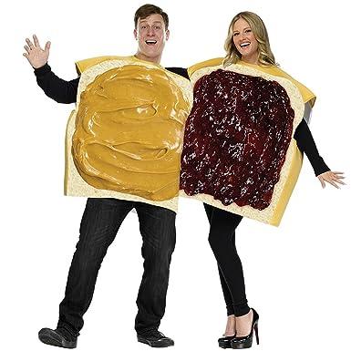 Costume Halloween Duo.Amazon Com Peanut Butter Jelly Couple Costume Halloween Costume