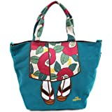 Japanese Women Shoulder Tote Bag - Cute Kimono Dresses Design Japanese Import