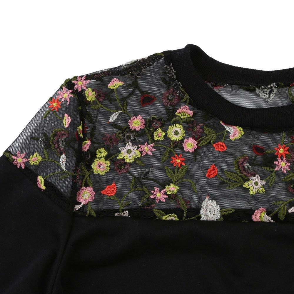 Camisa de Manga Larga para Mujer Moda Blouses Floral con Capucha Casual Otoñal Tops Estampados Camisa de Entrenamiento Camisa Pulóver: Amazon.es: Ropa y ...