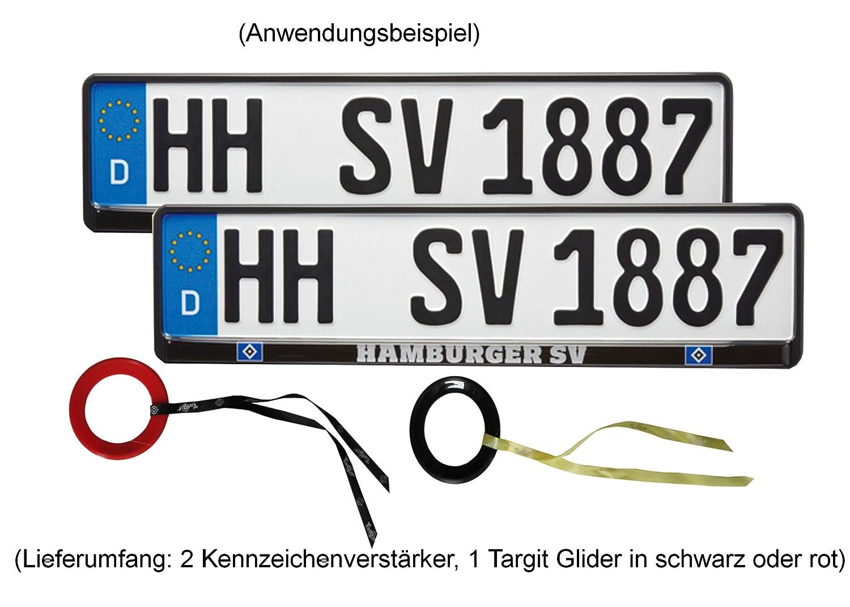 3er-Set 520x110mm Hamburger SV HSV Kennzeichenhalter exklusiv