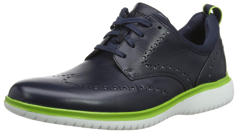 TALLA 43 EU. Rockport Dressport 2fast Marathon Shoe, Zapatos de Cordones Derby para Hombre