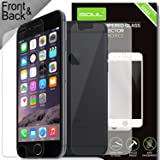 iSOUL Front & Rear Premium Tempered Glass For Apple iPhone 6 6S [ Front + Back ] LCD Screen Protector Guard Skin case Film 3D Touch Compatible Crystal Clear - Industry - High 9H Hardness Ultra Slim and Easy Bubble-Free Installation Thickness 0.30mm (iPhone 6/6S)