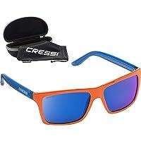 Cressi Rio - Occhiali Sportivi da Sole con Lenti Polarizzate/Anti UV 100%