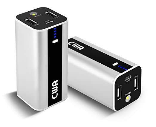 Amazon.com: cwa Mini 10000 mAh Cargador portátil batería ...