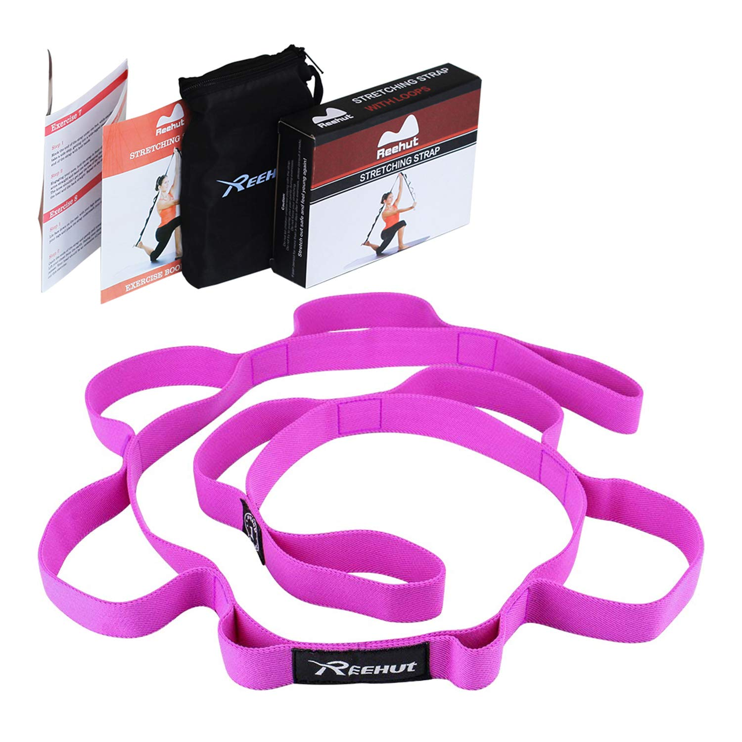 Reehut Stretching Strap Exercise Stretch Straps For Athletic