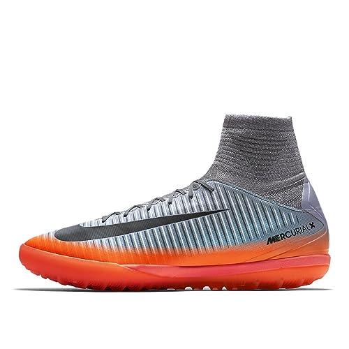 Nike Mercurial X Proximo II Cr7 TF Jr 878645, Zapatillas Unisex Adulto, Mehrfarbig (Indigo 001), 38.5 EU: Amazon.es: Zapatos y complementos
