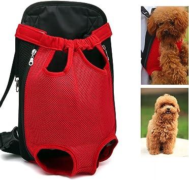 Camouflage Nero a mani libere gambe e cani da compagnia traspiranti zaino per cani viaggi in bicicletta Xiaoyu zaino vettore per animali da compagnia outdoor e moto passeggiate regolabile S