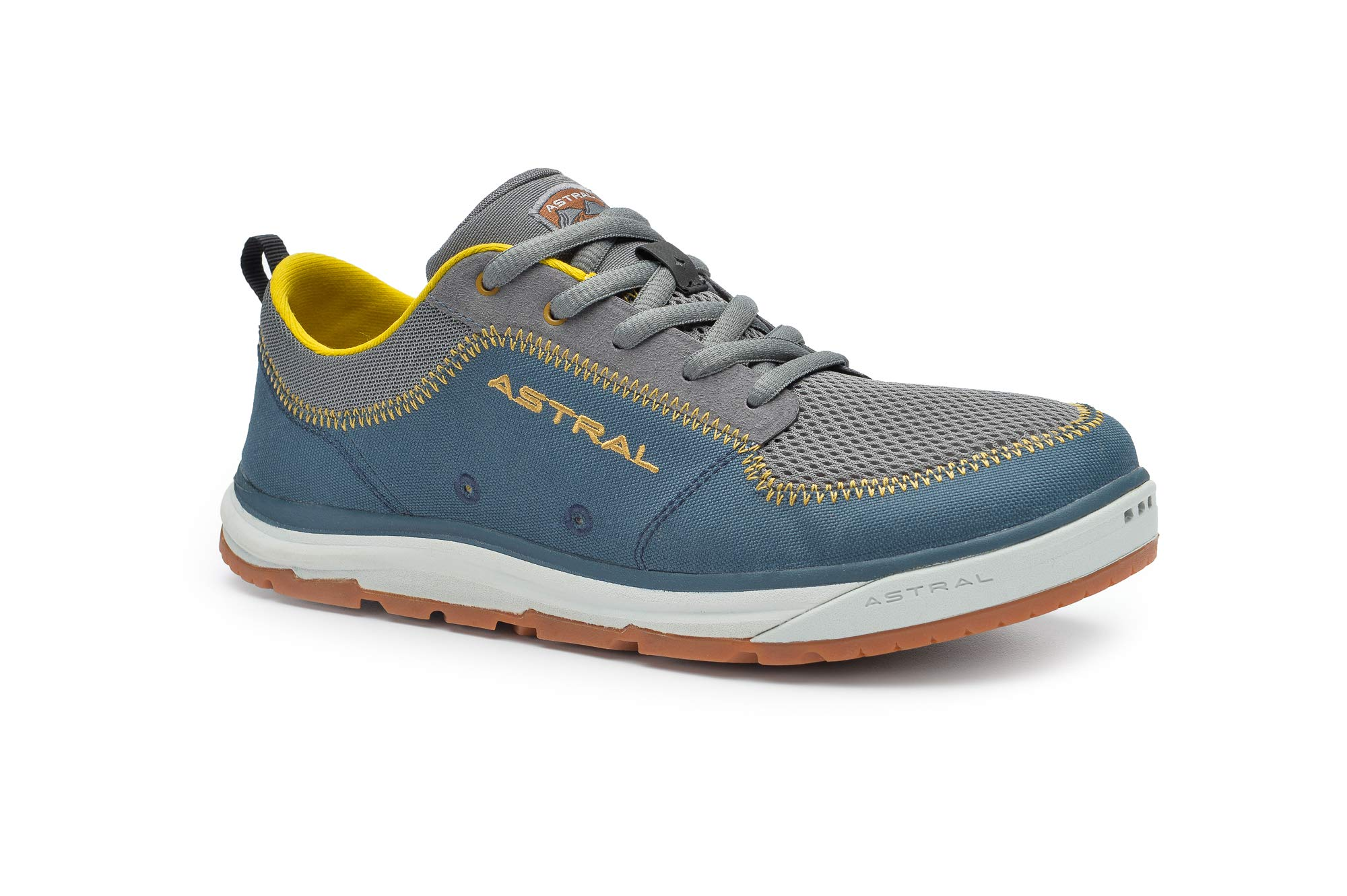 Astral Men's Brewer 2.0 Everyday Minimalist Outdoor Sneakers, Grippy and Quick Drying, Made for Water Sports, Travel, and Rock Scrambling, Storm Navy, 9.5 M US