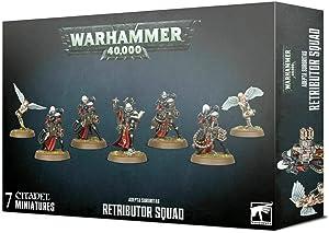 Games Workshop Warhammer 40,000: Adepta Sororitas Retributor Squad