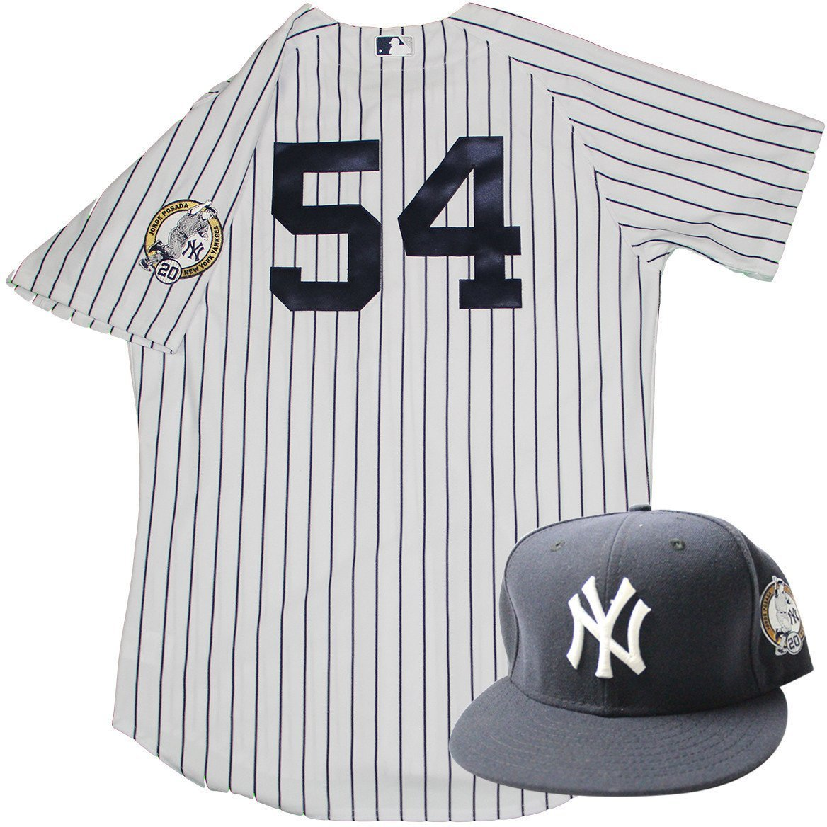 check out ee371 45dc3 Joe Espada Uniform - NY Yankees 2015 Game Used #54 Jersey ...