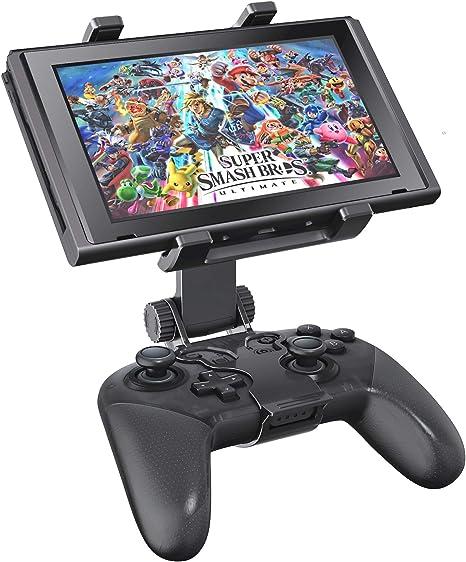 OIVO Soporte Mando para Nintendo Switch/Switch Lite, Ajustable Soporte de clip para Mando Pro Nintendo Switch: Amazon.es: Electrónica