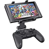 OIVO Switch Pro Controller Clip Mount for Nintendo Switch/Switch Lite, Adjustable Clip Clamp Holder Mount for Nintendo Switch