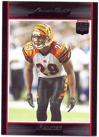 Leon Hall 2007 Bowman Rookie #198 - Cincinnati Bengals at Amazon's ...