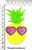 Fantasy Yellow Pineapple Fruit with Pink Heart