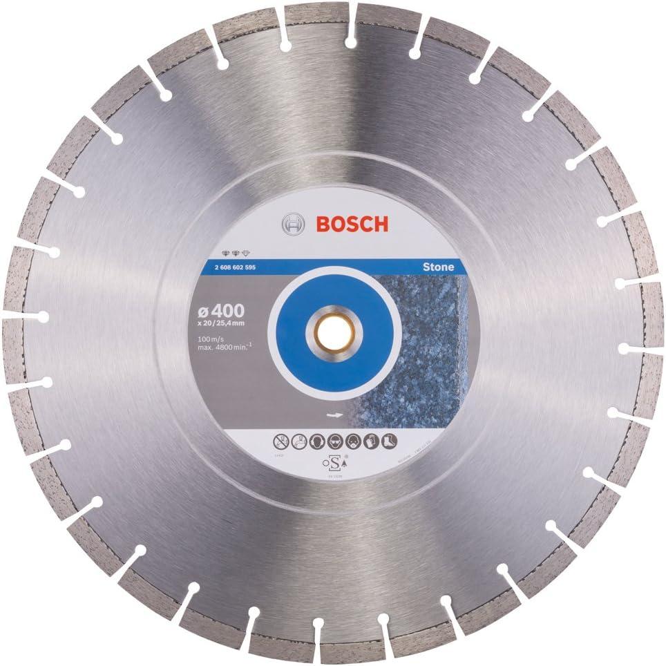 Bosch 2608602594 Disque /à tron/çonner diamant/é expert for stone 350 x 20,00+25,40 x 3,2 x 12 mm